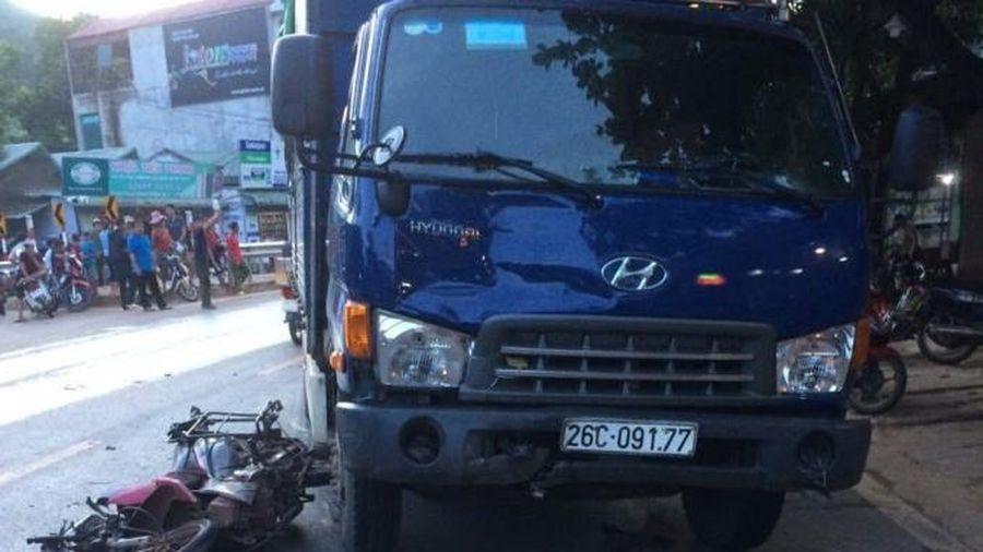 Va chạm giữa xe tải và xe máy, một người đàn ông ở Sơn La tử vong