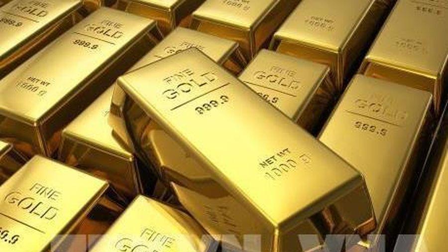 Giá vàng thế giới phiên 29/9 cao nhất trong gần một tuần