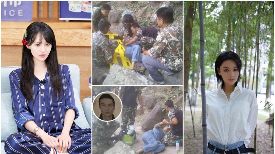 Trịnh Sảng và Trương Hinh Dư bị sốc khi xem video sản phụ bị chồng đẩy xuống vách núi