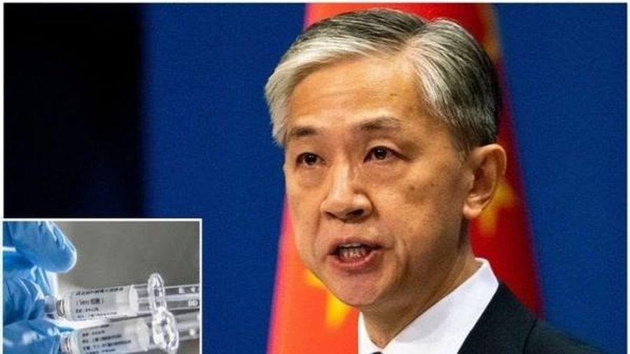 Trung Quốc tuyên bố viện trợ vaccine Covid-19 miễn phí cho các nước đang phát triển