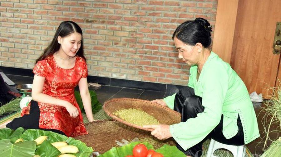 Cốm - Hương vị thu Hà Nội