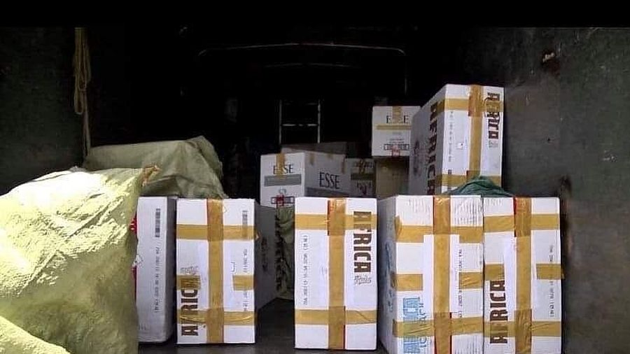 Long An: Tịch thu gần 1,8 triệu gói thuốc lá nhập lậu