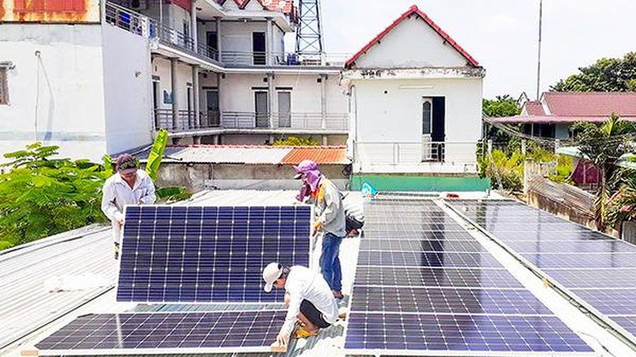 Quy định mới về lắp hệ thống điện mặt trời mái nhà