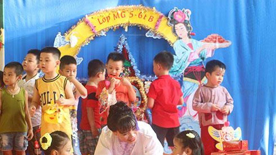 Trường mầm non 3-2 tổ chức vui đón Tết trung thu