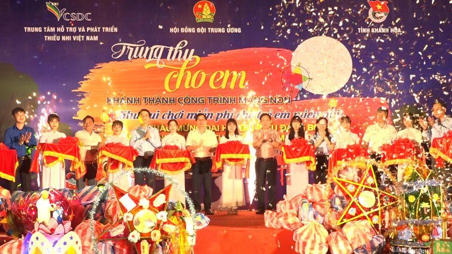 Khánh thành công trình măng non cấp tỉnh tại huyện Khánh Vĩnh