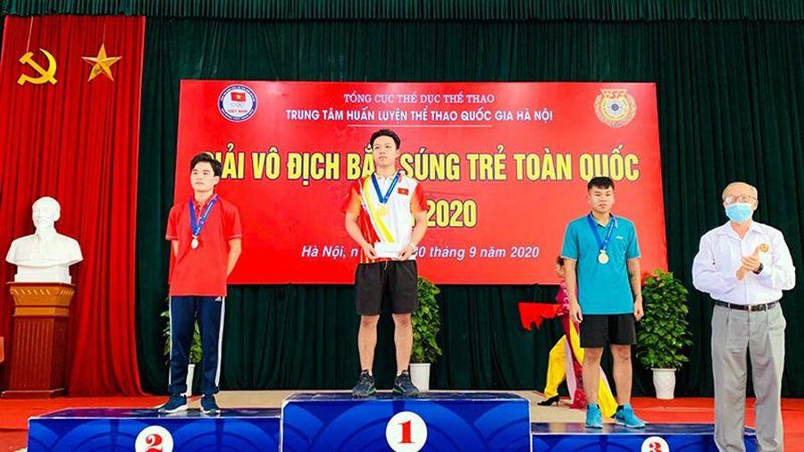 Quảng Ninh giành 3 huy chương tại Giải vô địch bắn súng trẻ quốc gia 2020
