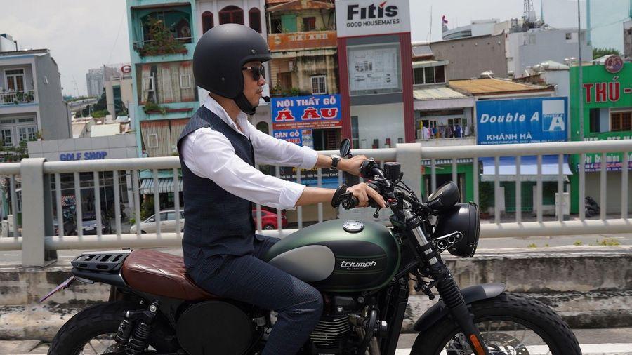 Biker Sài Gòn khuấy động ngày hội Distinguished Gentleman's Ride 2020