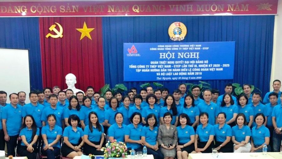 Công đoàn Tổng công ty Thép Việt Nam: Quán triệt Nghị quyết Đại hội Đảng bộ Tổng công ty nhiệm kỳ 2020- 2025