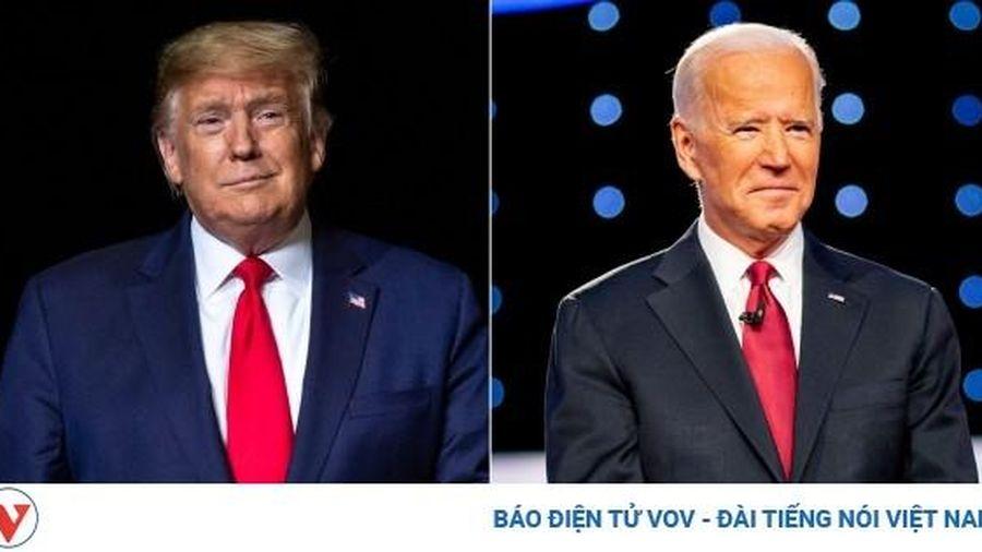 Cuộc tranh luận Tổng thống Mỹ đầu tiên: 'Hỗn loạn đối đầu Trump-Biden'
