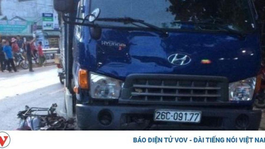 Tai nạn trên Quốc lộ 6, một người tử vong