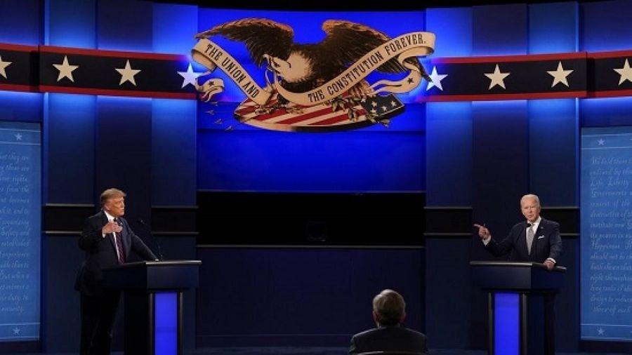 Những điểm đáng chú ý trong phiên tranh luận kịch tính giữa Trump và Biden
