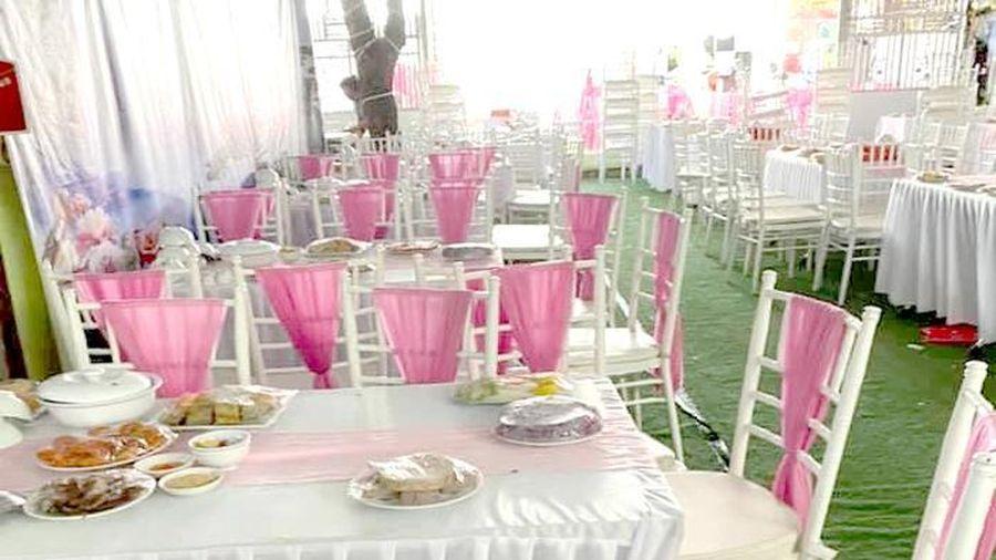 Vụ 'bom' 150 mâm cỗ cưới ở Điện Biên: 'Sáng cô dâu còn đi thử váy cưới'