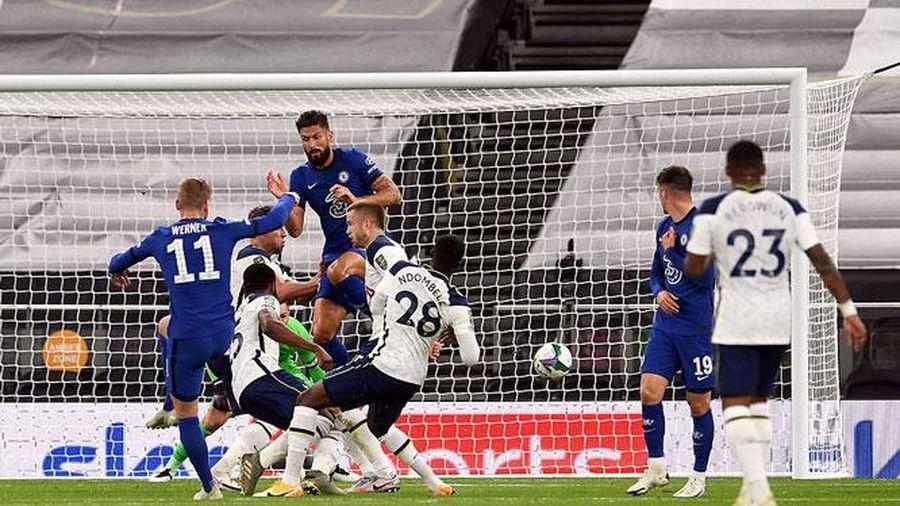 Để Tottenham lội ngược dòng, Chelsea mất vé vào tứ kết Cúp Liên đoàn