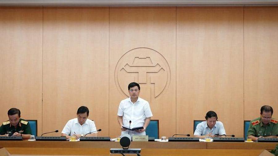 Hà Nội: Thực hiện nghiêm túc Công điện 1300/CĐ-TTg của Thủ tướng Chính phủ