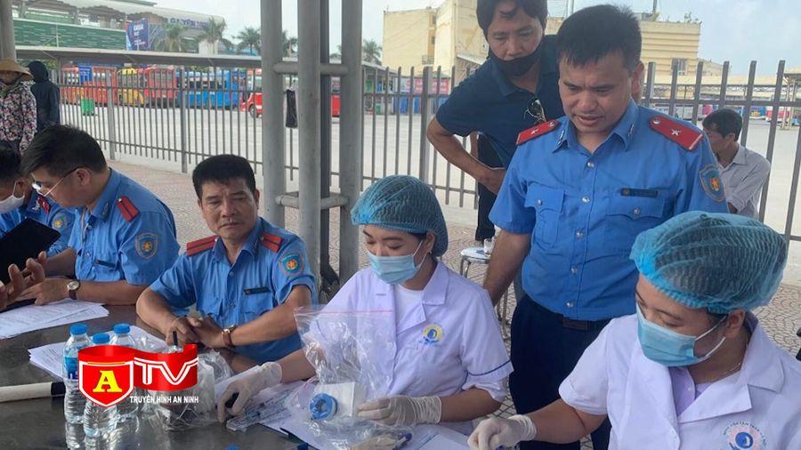 Phát hiện 2 lái xe ô tô tại Bến xe Yên Nghĩa dương tính với chất ma túy