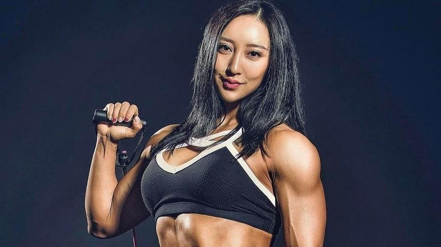 'Búp bê cơ bắp' Trung Quốc