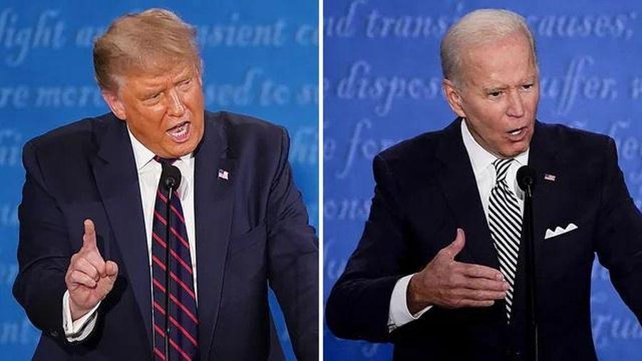 'Tổng thống Trump và ông Biden đều có thể hài lòng với màn tranh luận'