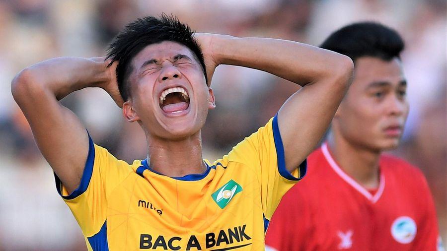 CLB Hải Phòng 1-1 SLNA: Phan Văn Đức mắc lỗi dẫn tới bàn thua