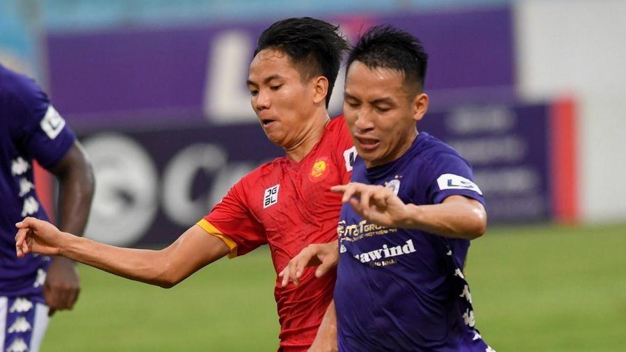 CLB Hà Nội 0-0 Thanh Hóa: Chủ nhà chiếm lĩnh thế trận