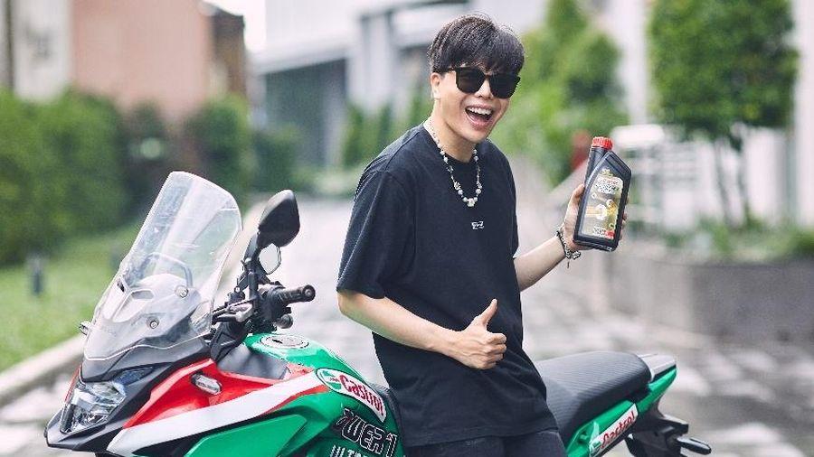 Trịnh Thăng Bình, Công Phượng chia sẻ thú chơi môtô