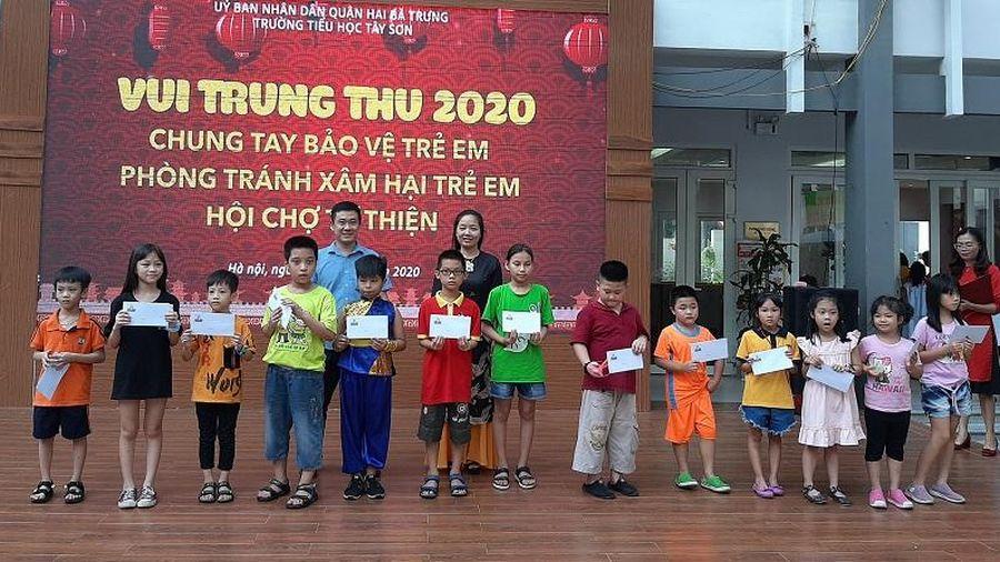 Quận Hai Bà Trưng: Trường Tiểu học Tây Sơn tổ chức nhiều hoạt động ý nghĩa trong 'Hội vui Trung thu'