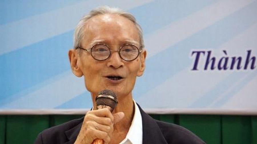 Nhà ngôn ngữ học Trần Chút qua đời ở tuổi 84