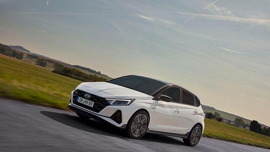Xe hiệu năng cao Hyundai i20 N Line 2021 chính thức ra mắt