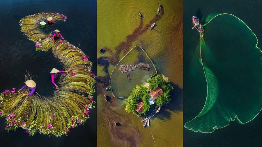 Choáng ngợp với khoảnh khắc chụp Việt Nam nhìn từ trên cao trong giải ảnh quốc tế