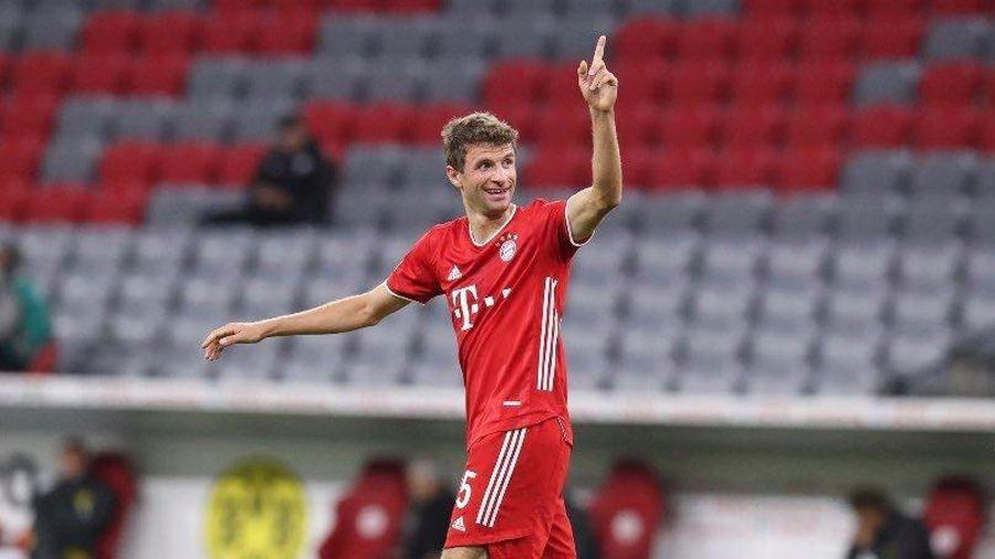 Thomas Müller đạt kỷ lục mới sau trận thắng Siêu Cúp Đức