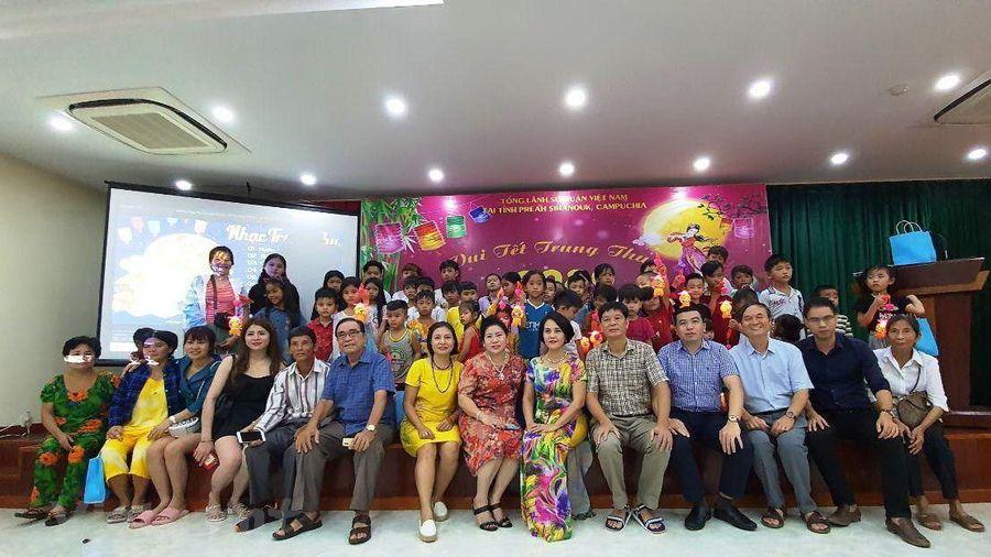 Campuchia: Trẻ em gốc Việt tại Preah Sihanouk vui đón Tết Trung Thu