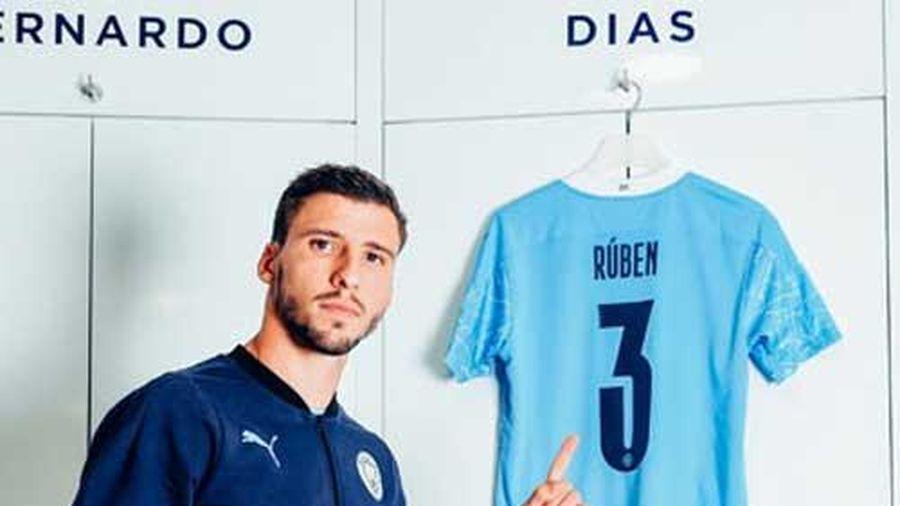 Ruben Dias: Giá kỷ lục cho một thủ lĩnh