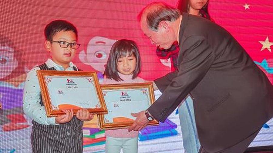 Lien Minh Group tổ chức Đêm hội trăng Rằm và trao học bổng cho các cháu thiếu nhi