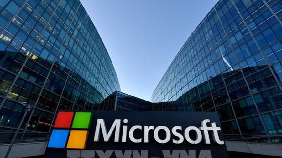 Dịch vụ email của Microsoft gặp sự cố trên toàn cầu