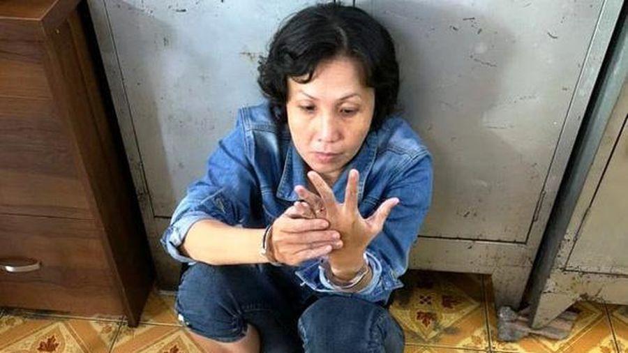 Người phụ nữ xúi giục con nhỏ trộm túi tiền của bà cụ bán hàng ở vỉa hè đã bị bắt