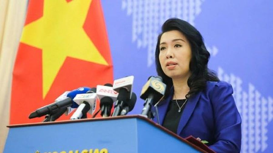 Việt Nam yêu cầu Trung Quốc chấm dứt và không tái diễn việc tập trận gần Hoàng Sa