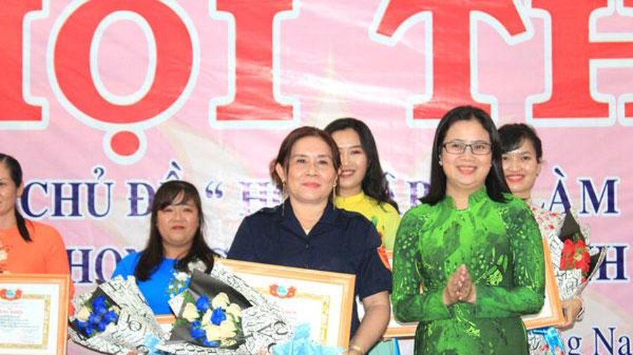 Thí sinh Trương Thị Ngọc Hạnh đoạt giải nhất Hội thi kể chuyện học và làm theo Bác
