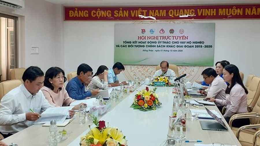 Tổng kết hoạt động ủy thác cho vay hộ nghèo và các đối tượng chính sách khác