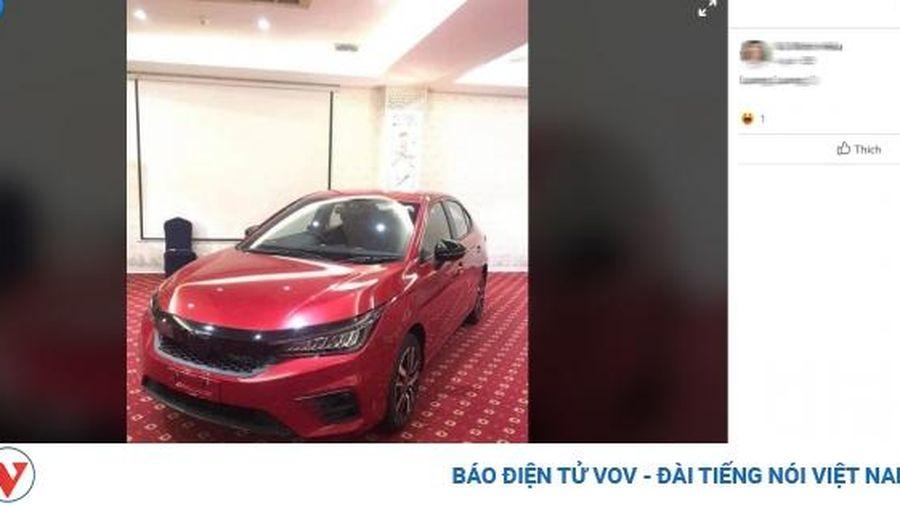 Rò rỉ hình ảnh Honda City 2020 tại Việt Nam