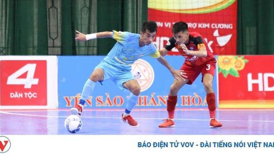 Futsal HDBank VĐQG 2020: Sanvinest Sanatech Khánh Hòa khuất phục 'ngựa ô' Đà Nẵng