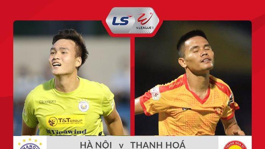Trực tiếp Hà Nội FC 0-0 Thanh Hóa: Quang Hải dự bị