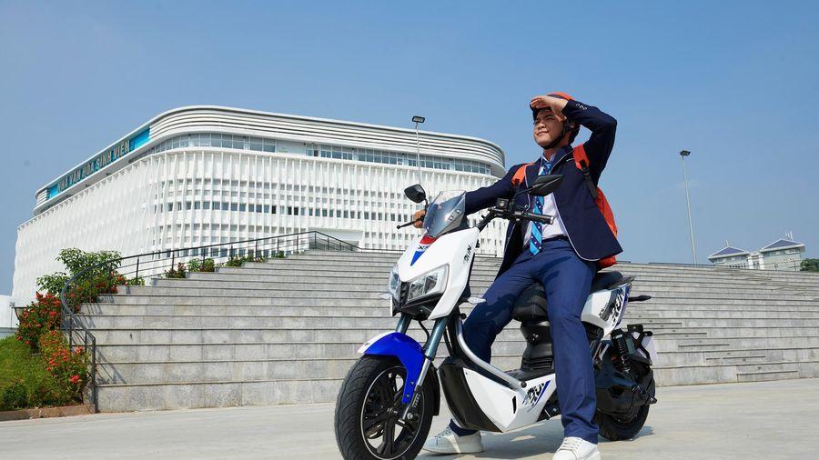 YADEA X5 chính thức mở bán: Tiên phong xu hướng xe máy điện thể thao