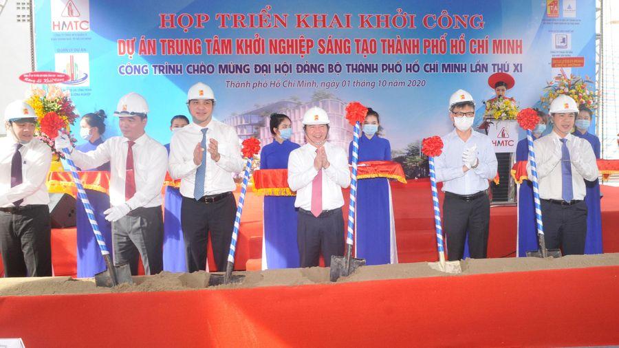 Khởi công xây dựng Trung tâm Khởi nghiệp sáng tạo TPHCM