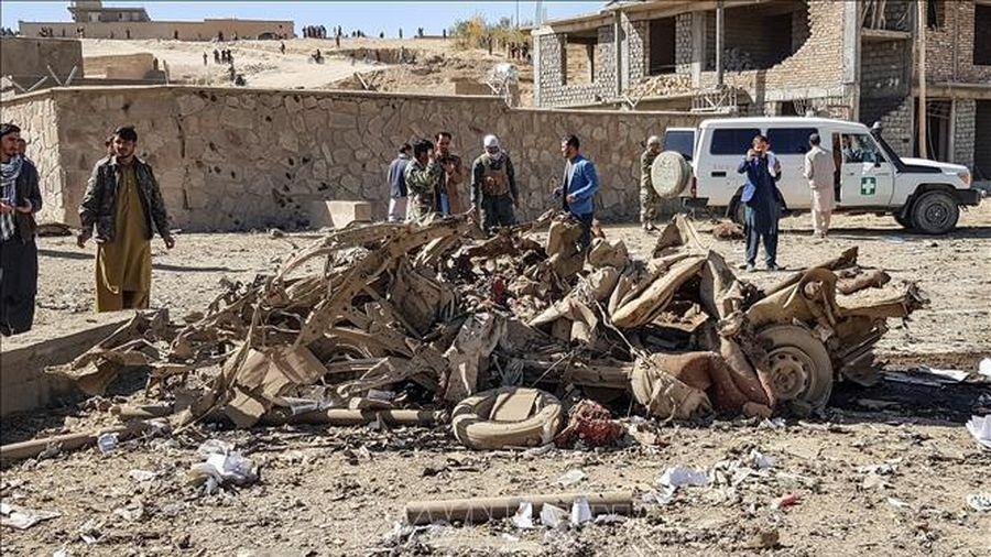 Số thương vong trong vụ đánh bom xe tại tỉnh Ghor tăng nhanh