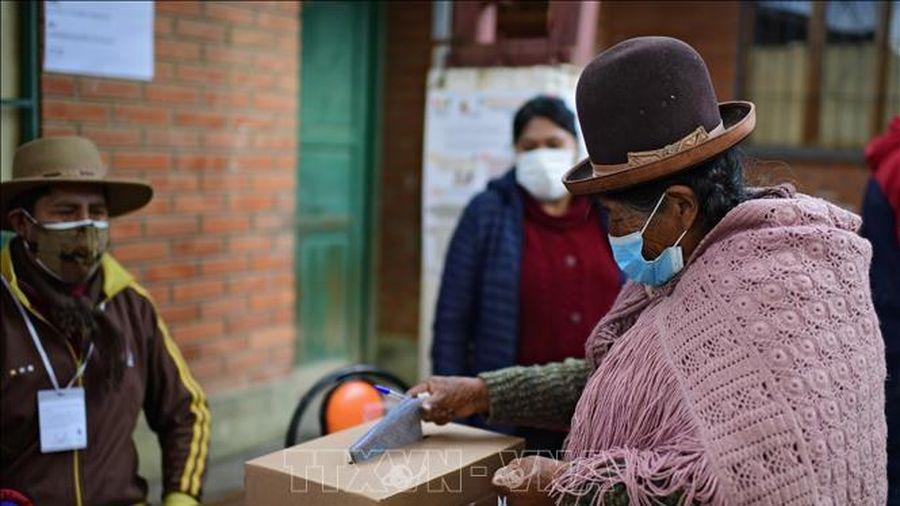 Bolivia tiến hành tổng tuyển cử