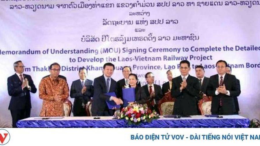 Lào thúc đẩy tiến độ triển khai dự án đường sắt Thakhek- Vũng Áng
