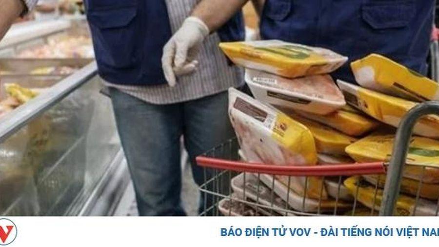 Bao bì thực phẩm đông lạnh chứa virus SARS-Cov-2 có thể làm lây nhiễm Covid 19