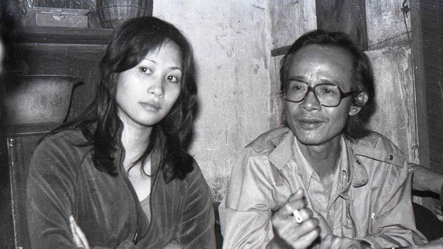 Các bức ảnh đen trắng quý giá về nhạc sĩ Trịnh Công Sơn