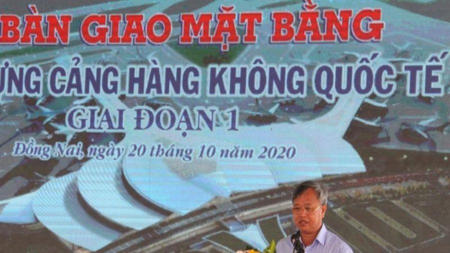 Đồng Nai bàn giao đất xây dựng sân bay Long Thành giai đoạn 1