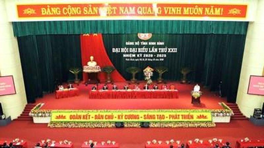 Phiên trù bị Đại hội đại biểu Đảng bộ tỉnh Ninh Bình lần thứ XXII