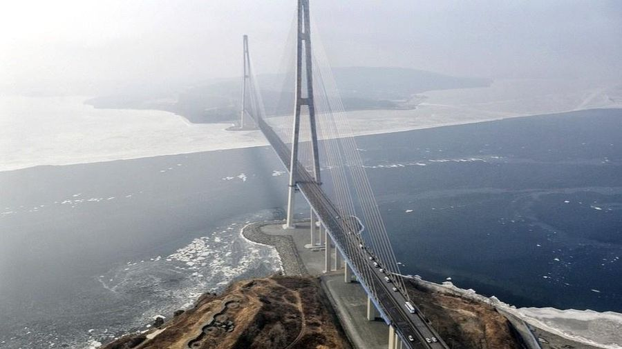 'Cây cầu hư không' trị giá 1 tỷ USD ở Nga